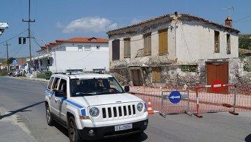 Греческая полиция. Архивное фото