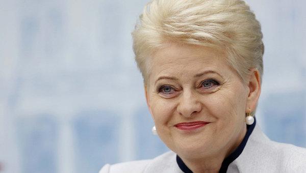 Переизбранный президент Литвы Далия Грибаускайте. Архивное фото