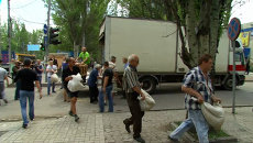 Жители Донецка построили баррикады в ожидании нового штурма нацгвардии
