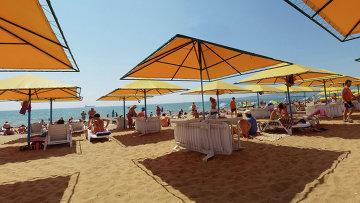 Пляж Крыма. Архивное фото