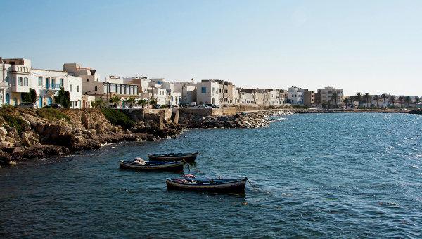 Курортный город Махдия в Тунисе