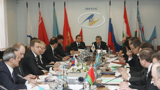 Заседание Комиссии таможенного союза. Архивное фото