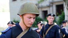 Военнослужащие национальной гвардии Украины. Архивное фото