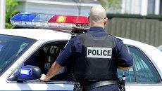 Офицер полиции США. Архивное фото
