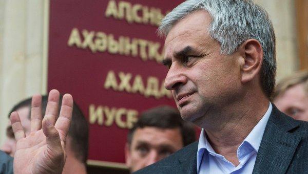 Президент Абхазии объявил оготовности покинуть собственный пост