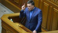 Лидер партии Свобода Олег Тягнибок. Архивное фото