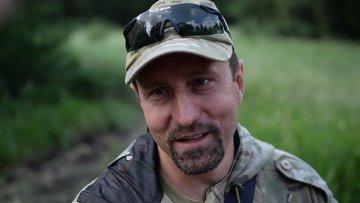 Командир батальона Восток Александр Ходаковский. Архивное фото