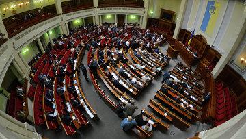 Заседание Верховный Рады Украины. Архивное фото