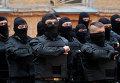 """Члены """"Правого сектора"""" принимают присягу перед отправкой в дивизию """"Азов"""""""