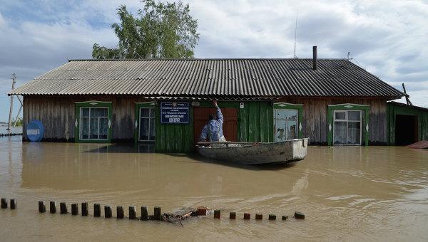 ВАлтайском крае устранено  подтопление десятков жилых домов