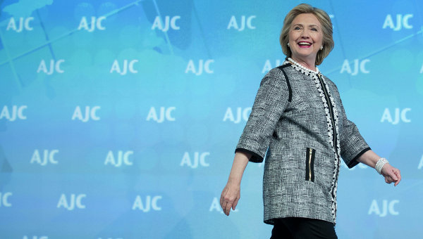 Экс-госсекретарь США Хиллари Клинтон. Архивное фото