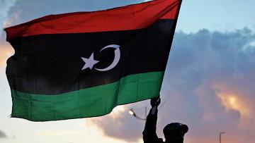 Флаг Ливии. Архивное фото
