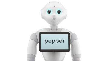 Японский робот Pepper, созданный компанией Softbank
