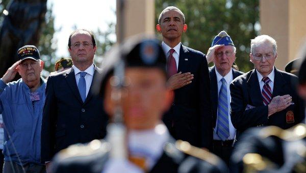 Торжества по случаю 70-летия высадки союзных войск в Нормандии