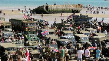 Мероприятия по случаю 70-летия высадки союзников в Нормандии