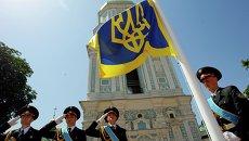 Подготовка к проведению инаугурации Петра Порошенко в Киеве