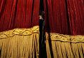 """Репетиция спектакля режиссера Эймунтаса Някрошюса """"Идиот"""""""