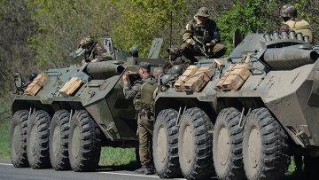 Украинская бронетехника. Архивное фото