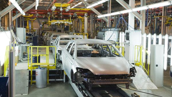 Завод Ford. Архивное фото