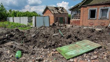 Ситуация в Донецкой области. Архивное фото.
