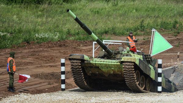 Танковый биатлон, архивное фото