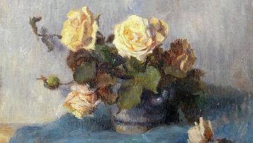 Поль Гоген. Букет роз. 1909 год