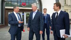 Открытие южного вестибюля станции метро «Лубянка»