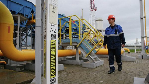 Хранилище газа. Архивное фото