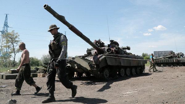 Украинская военная техника на востоке Украины. 6 июня 2014
