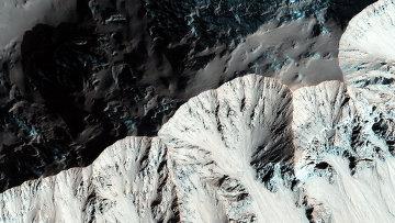 Снимок поверхности Марса, сделанный камерой HiRise