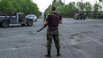 Солдаты украинской армии. Архивное фото.