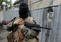 Боец народного ополчения Донецкой Народной Республики