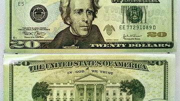 20-долларовые банкноты США нового образца