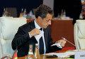 Николя Саркози в Канне