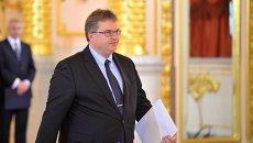 Чрезвычайный и полномочный посол Королевства Дания в РФ Томас Винклер. Архивное фото