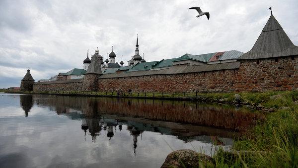 Жизнь на Соловецком архипелаге. Архивное фото