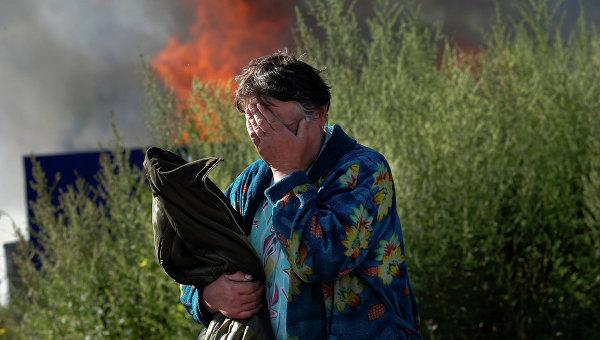 Ситуация на юго-востоке Украины. Архивное фото