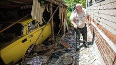 Ситуация в Славянске Донецкой области. Архивное фото.