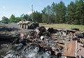 Украинские войска на КПП в поселке Красный Лиман
