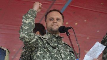 Народный губернатор Донецкой области, лидер Партии Новороссии Павел Губарев. Архивное фото