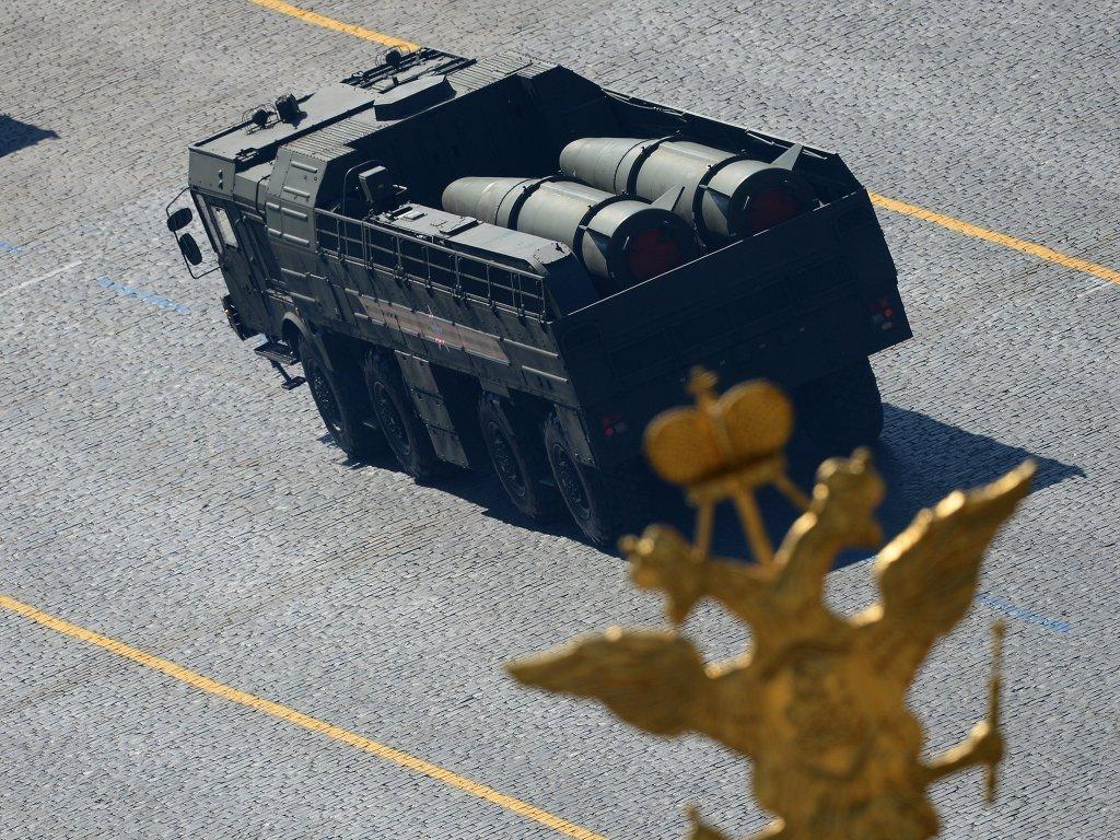 Оперативно-тактический ракетный комплекс ПУ Искандер-М