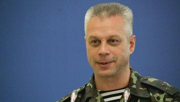 Представитель информационного центра Совета национальной безопасности и обороны Украины (СНБО) Андрей Лысенко. Архивное фото