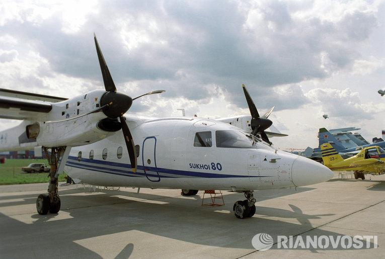 Многофункциональный грузопассажирский самолет су