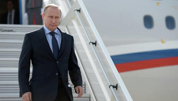 Президент России В. Путин. Архивное фото