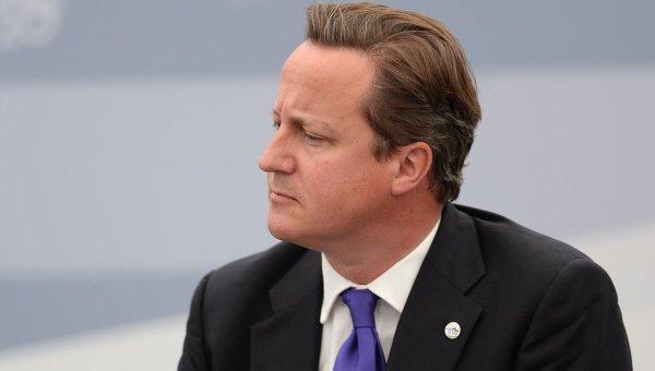 Премьер-министр Великобритании Дэвид Кэмерон. Архивное фото.