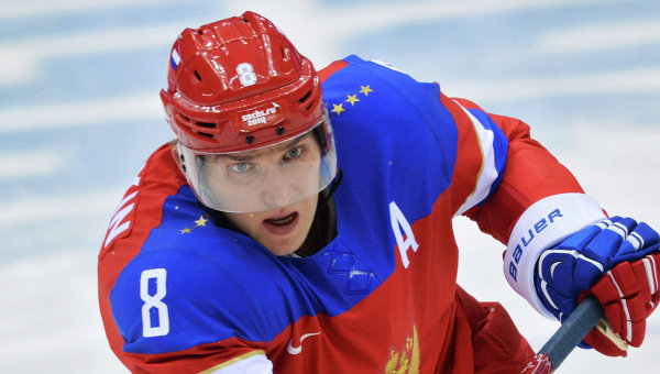Хоккеист Александр Овечкин, архивное фото.