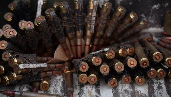 Пулеметные ленты. Архивное фото