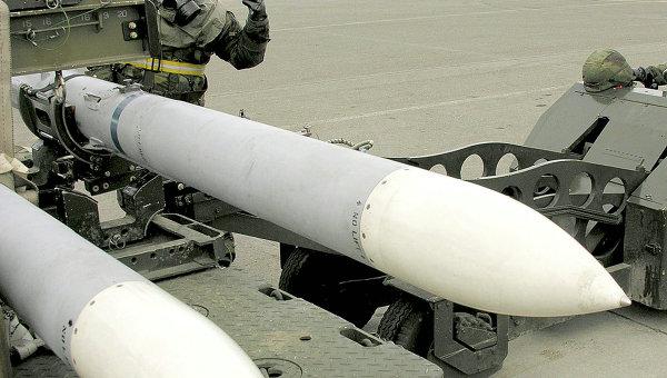 Авиационная ракета. Архивное фото