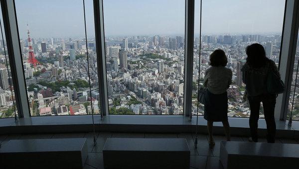 Вид на Токио. Архивное фото