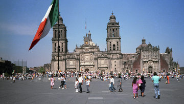 Мехико. Мексика. Архивное фото